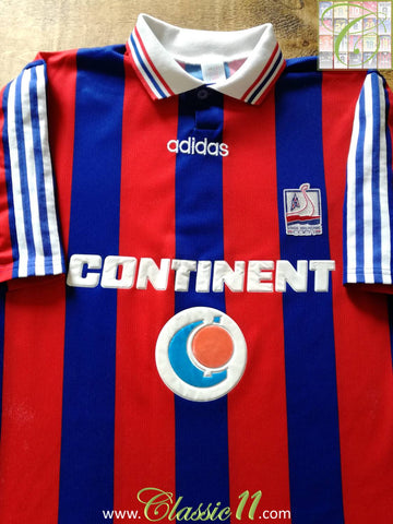 1996/97 Stade Malherbe Caen Home Football Shirt (L)