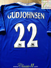 2003/04 Chelsea Home Premier League Football Shirt Gudjohnsen #22 (M)