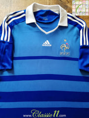 2008/09 France Home Football Shirt (XL)