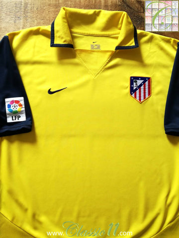 2003/04 Atlético Madrid Away La Liga Football Shirt (S)