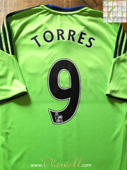 2010/11 Chelsea 3rd Premier League Football Shirt Torres #9 (M)