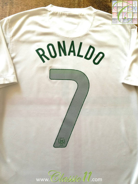 info for 59fe1 cb6df 2012/13 Portugal Away Football Shirt Ronaldo #7 / Old Soccer ...