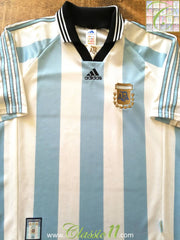 1998/99 Argentina Home Football Shirt (M)