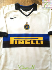 2005/06 Internazionale Away Football Shirt (M)