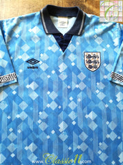 1990/91 England 3rd Football Shirt (L)