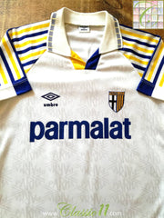 1991/92 Parma Home Football Shirt (S)