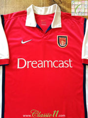 1999/00 Arsenal Home Football Shirt (M)