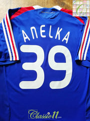 2007/08 France Home Football Shirt Anelka #39 (XL)