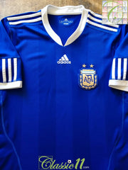 2010/11 Argentina Away Football Shirt (XL)