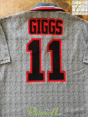 1995/96 Man Utd Away Football Shirt Giggs #11 (B)