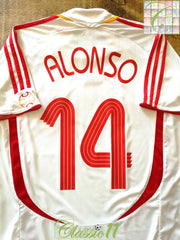 2006/07 Spain Away Football Shirt Alonso #14 (S)