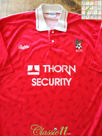 1990/91 Bristol City Home Football Shirt (S)