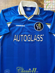 1997/98 Chelsea Home Football Shirt (M)