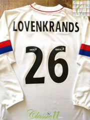 2002/03 Glasgow Rangers 200/03 SPL 3rd Football Shirt Lovenkrands #26 (L)