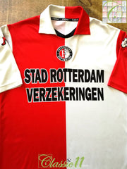 2001/02 Feyenoord Home Football Shirt (M)