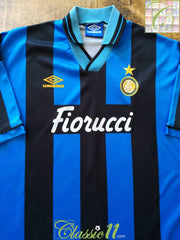 1994/95 Internazionale Home Football Shirt (XL)