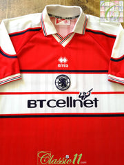 2000/01 Middlesbrough Home Football Shirt (XL)