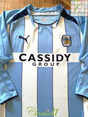 2008/09 Coventry City Home Football Shirt (S)
