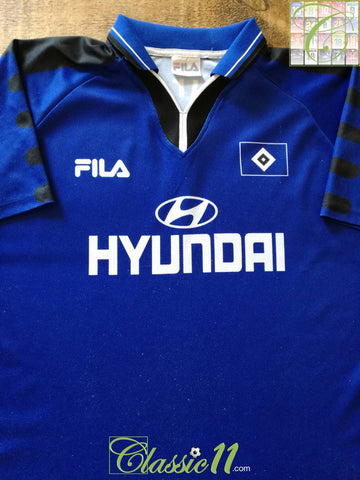 1999/00 Hamburg Away Football Shirt (M)