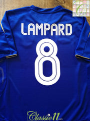 2005/06 Chelsea Home European Football Shirt Lampard #8 (M)