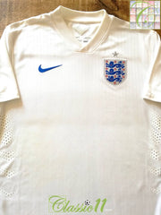 2014/15 England Home Pro-Fit Football Shirt (M)