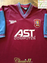 1997/98 Aston Villa Home Football Shirt (Y)