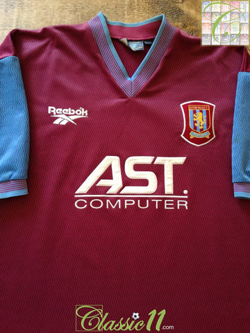 1997/98 Aston Villa Home Football Shirt (L)