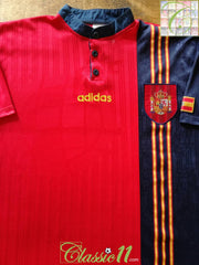 1996/97 Spain Home Football Shirt (XL)
