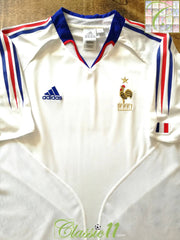 2004/05 France Away Football Shirt (S)