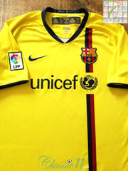 2008/09 Barcelona Away La Liga Football Shirt (XL)