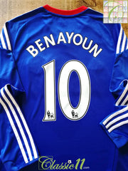 2010/11 Chelsea Home Premier League Football Shirt Benayoun #10. (S)