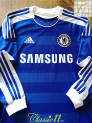 2011/12 Chelsea Home Football Shirt. (M)