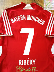 2007/08 Bayern Munich Home Football Shirt Ribéry #7 (S)