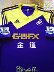 2013/14 Swansea City Away Premier League Football Shirt (M)
