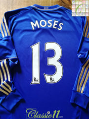 2012/13 Chelsea Home Premier League Football Shirt Moses #13. (M)