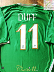 2006/07 Republic of Ireland Home Football Shirt Duff #11 (XL)