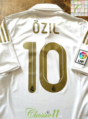 2011/12 Real Madrid Home La Liga Football Shirt Özil #10 (S)