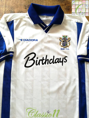 1999/00 Bury Home Football Shirt (L)