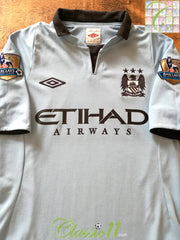 2012/13 Man City Home Premier League Shirt (S)