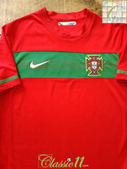 2010/11 Portugal Home Football Shirt (M)