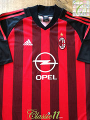2002/03 AC Milan Home Football Shirt (XL)