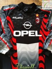1997/98 AC Milan Goalkeeper Football Shirt (XXL) *BNWT*
