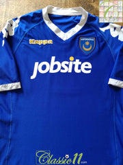 2010/11 Portsmouth Home Football Shirt (S)