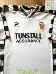 2001/02 Port Vale Home Football Shirt (XL)