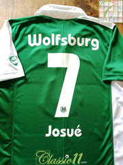 2007/08 Wolfsburg Home Football Shirt Josué #7 (M)