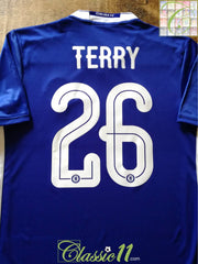 2016/17 Chelsea Home Football Shirt Terry #26 (S)