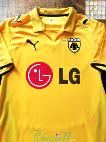 2008/09 AEK Athens Home Football Shirt (M)