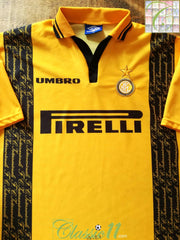 1996/97 Internazionale 3rd Football Shirt (XL)