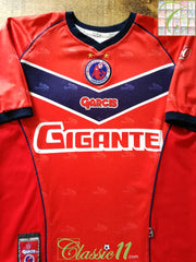 2002/03 Tiburones Rojos de Veracruz FMF League Home Football (L)