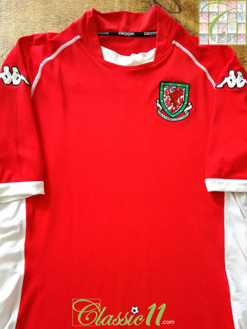 2002/03 Wales Home Football Shirt (XXL)